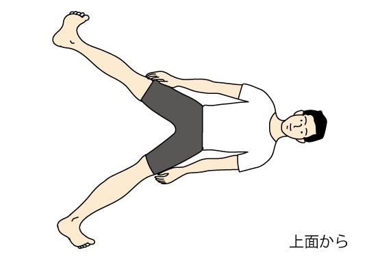 家で寝ながらできる腰痛体操